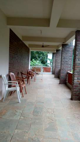 Verandah outside the room