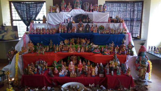 Doll Show during Dussehra week