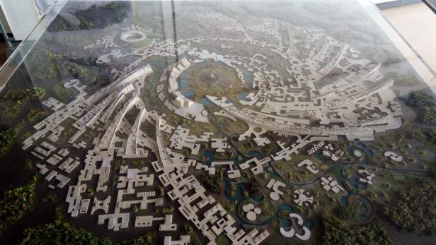 Proposed model of Auroville