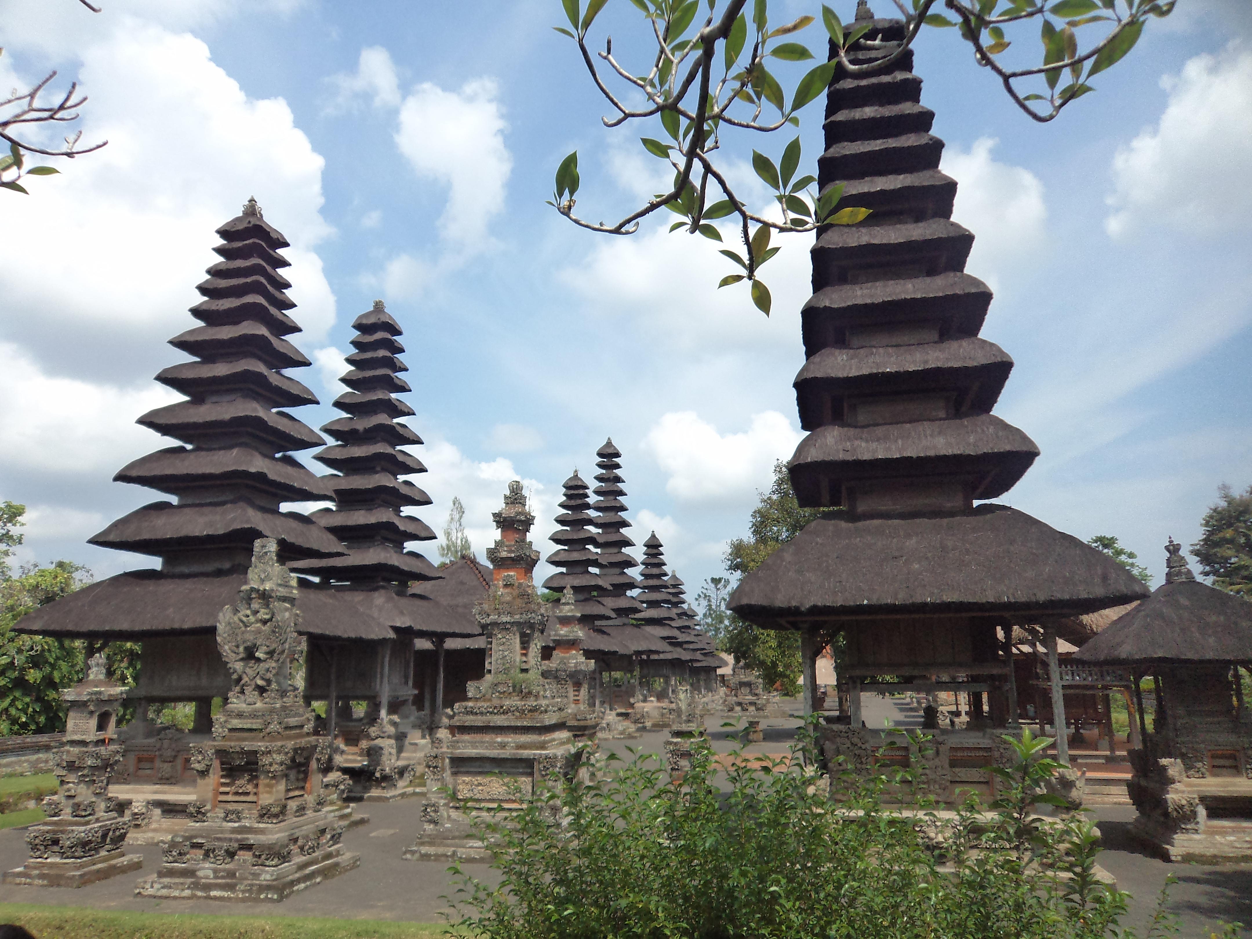 Royal Palace Temple or Taman ayun Temple, Bali