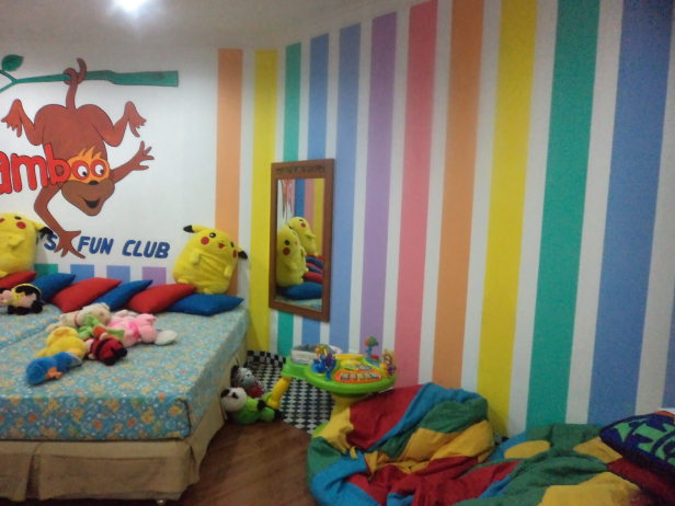 Kids room at Grand Mirage Resort, Bali
