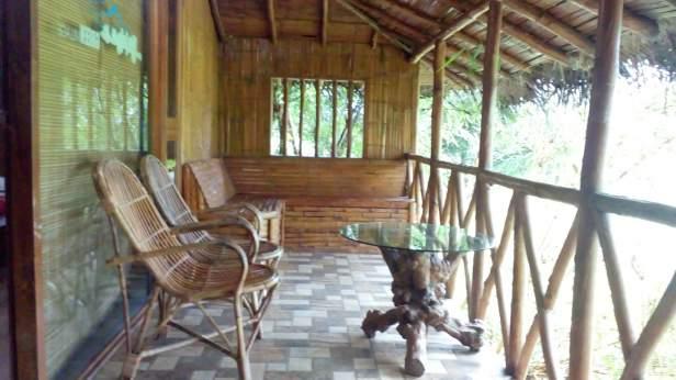 Cinnamon room, Pepper Green Village balcony