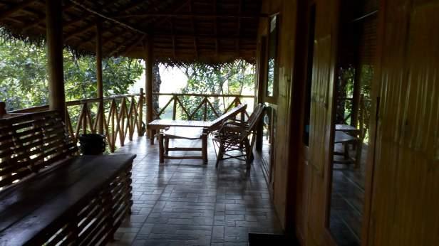 Lounge area outside Stevia