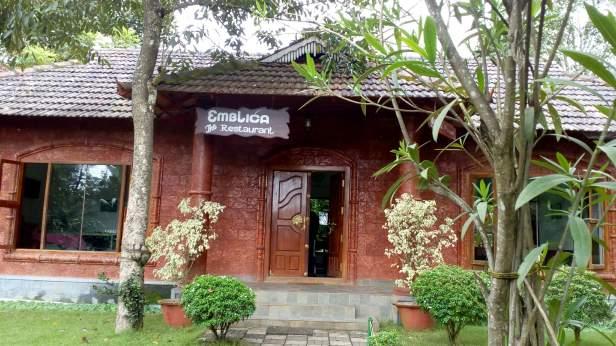 Emblica restaurant inside Pepper Green Village