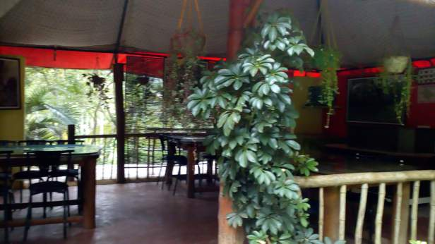 Reception cum restaurant at Pugmarks Jungle Lodge, Wayanad