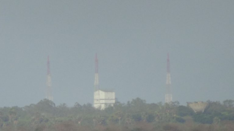 Sriharikota Launch Pad 1 seen from the viewing point