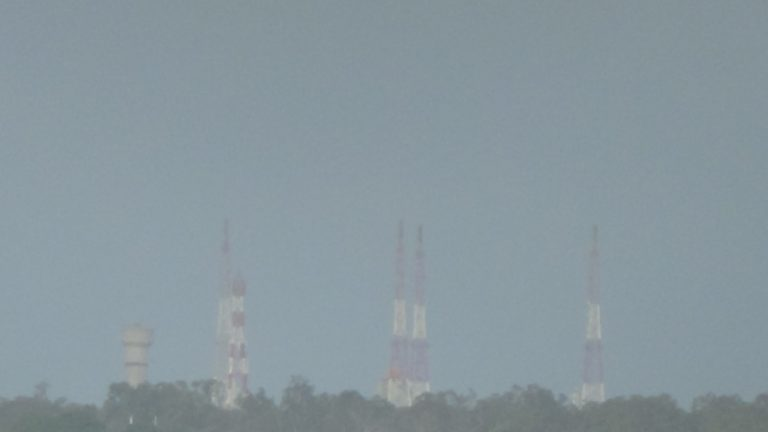 Sriharikota Launch Pad 2 as seen from the viewing point