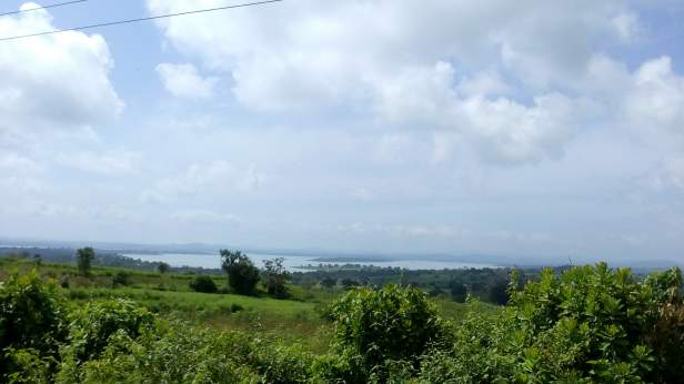 View of Kabini river on the way