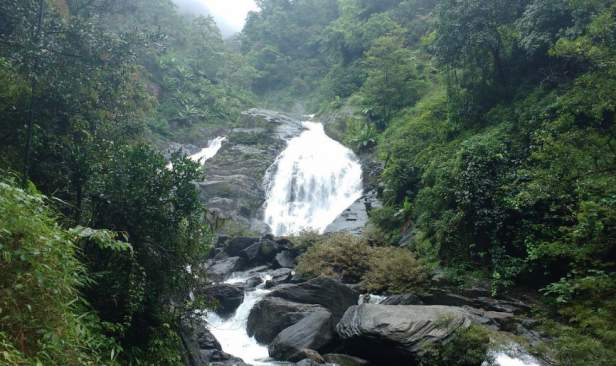 Another view from Level 2, Meenmutty falls, Wayanad