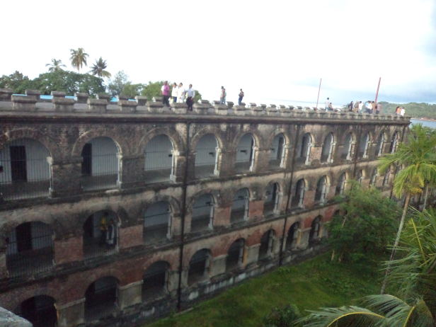 One of the wings of Cellular Jail
