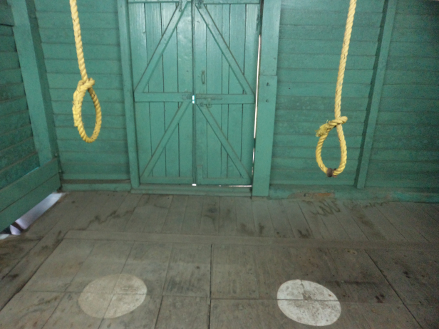 Dungeons for death sentence at Cellular Jail, Andaman