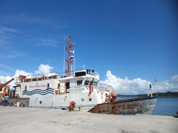 Govt ferry between Havelock and Port Blair
