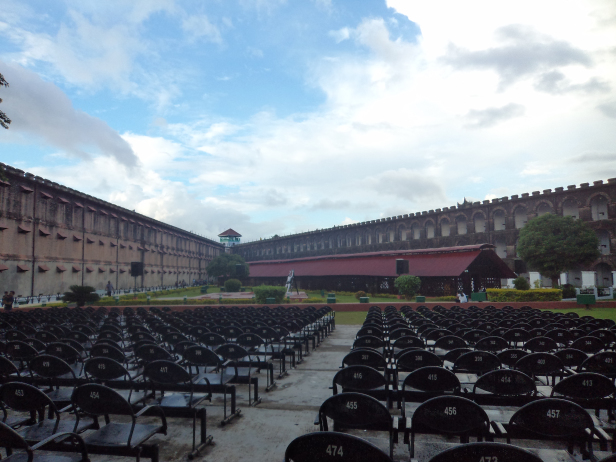 Venue of the Light and sound show, Cellular Jail