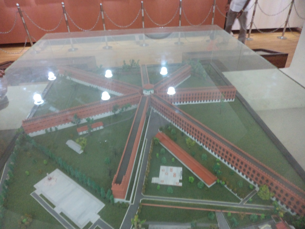 Model of the Cellular Jail,Andaman