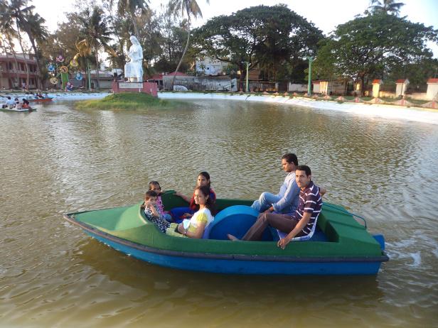 Pedal Boat Ride at Vijay Park