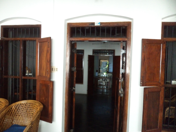 View inside Hot Dishes, Alleppey, Kerala