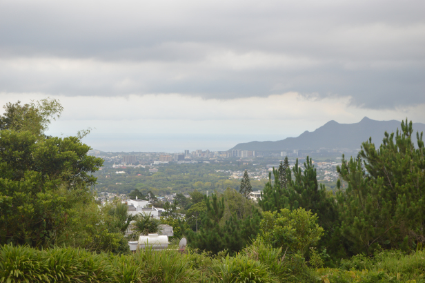 View of South Mauritius from Trou Aux Cerf