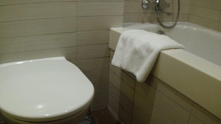 Deluxe Room bathroom, Parkroyal Kitchener Road, Singapore