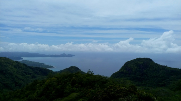 View from mission lodge trail, Mahe