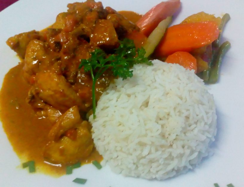 Creole Chicken curry