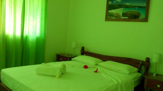 Bedroom 1 at Villa Idea, Anse Kerlan, Seychelles